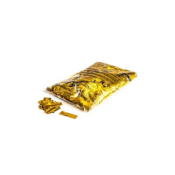 Confettis de scène rectangle métal OR 55 x 17mm - Sachet de 1 kg