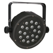 Showtec Club PAR 18/1 RGB - Projecteur à leds RGB