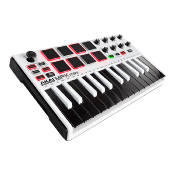 Akai MPK mini MKII WHITE - Clavier MIDI/USB 25 notes avec Ableton live