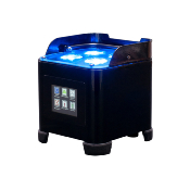 ADJ Element ST HEX - Projecteur PAR à LED sur batterie de 4 x 6-W RGBAW+UV
