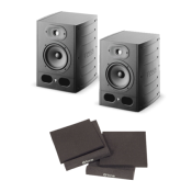Focal Alpha 65(la paire) + une paire de supports en mousse acoustique