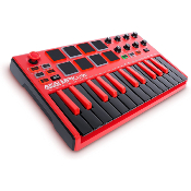 Akai MPK Mini mkII Red Special Edition - Clavier MIDI/USB 25 notes avec Ableton live