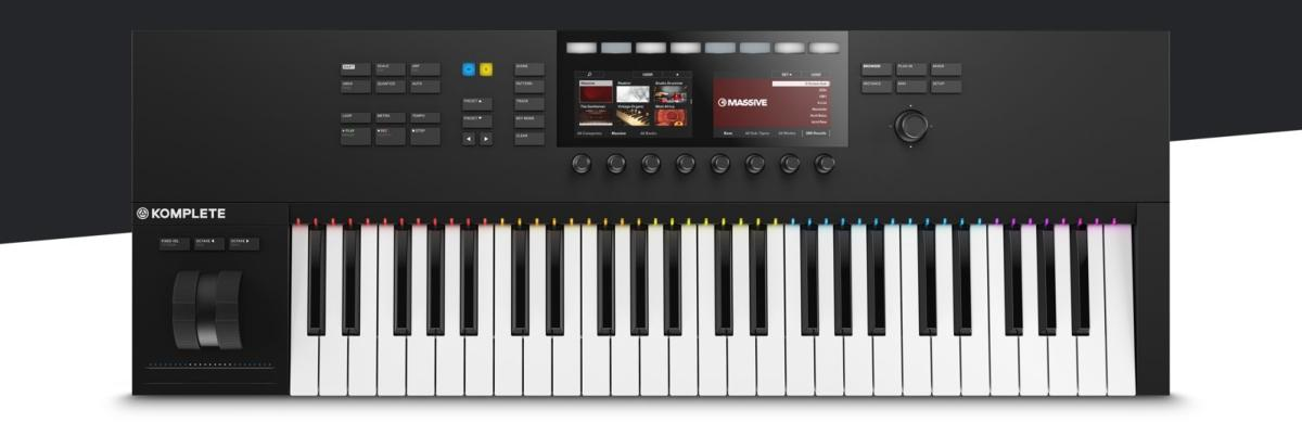 native instruments komplete kontrol s49 clavier ma tre. Black Bedroom Furniture Sets. Home Design Ideas
