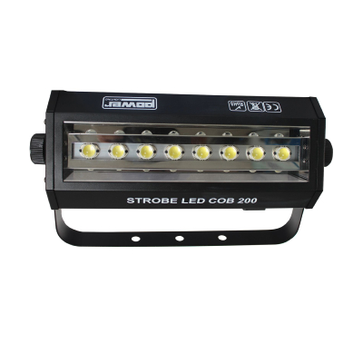 POWER LIGHTING Strobe LED COB 200 - Stroboscope à LEDS de 200 w