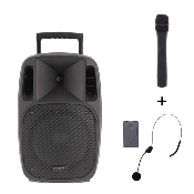 POWER ACOUSTICS MOOVY 12 MK2 - Sono portable sur batterie de 80 w rms