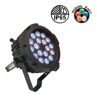 Power lighting PAR SLIM 18x10W IP65 PENTA40 - Projecteur à LEDS pour l'extérieur (angle 40°)