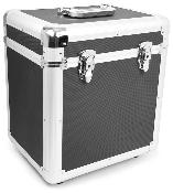 Power Dynamics RC100 12'' - Flight case noir pour 100 vinyles 33 tours
