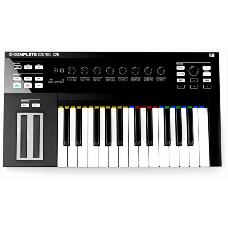 native instruments komplete kontrol s25 clavier ma tre. Black Bedroom Furniture Sets. Home Design Ideas